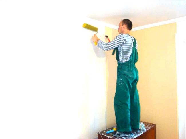 Декоративная штукатурка на потолок фото