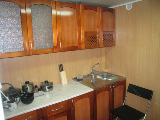 Ремонт кухни панелями своими руками
