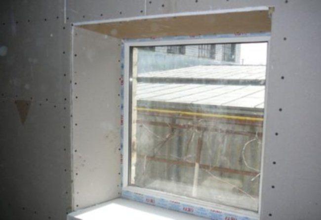 otkosy na oknah iz gipsokartona
