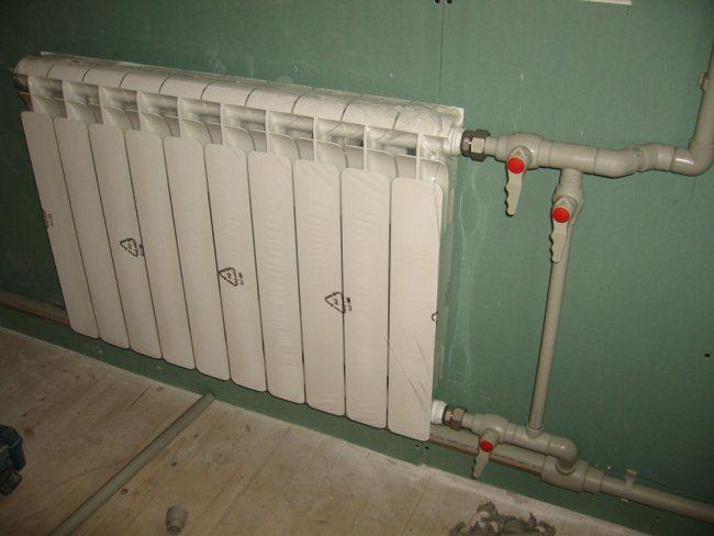Монтаж радиаторов с нижним подключением своими руками