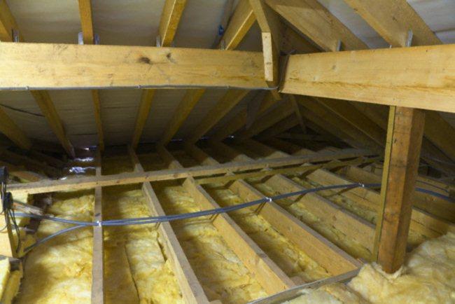 Потолок утепляем 129