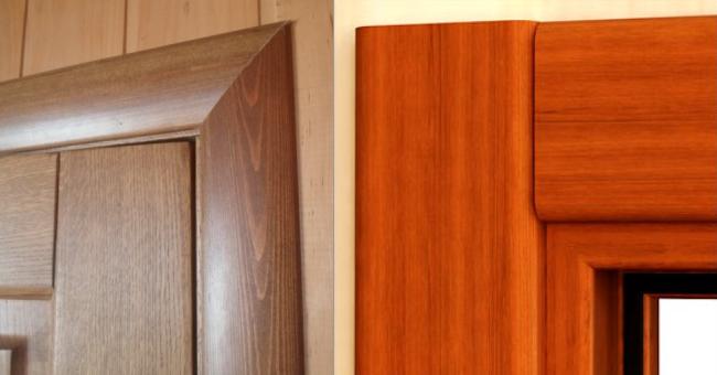дверные наличники: подрезка