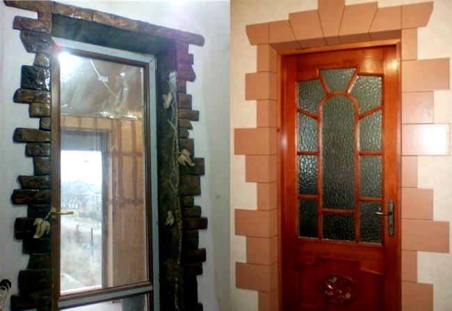 керамические дверные наличники