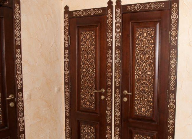 деревянные дверные наличники