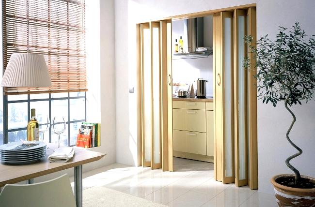 раздвижная дверь-гармошка