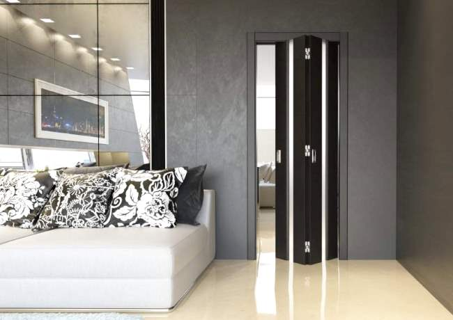 раздвижные двери своими руками: дверь-книжка