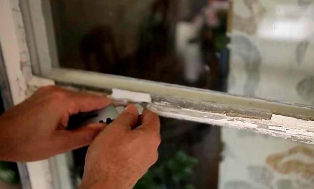 как покрасить старые окна