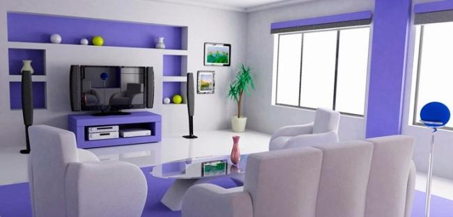 цвет для гостиной